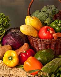 Healthy Basket of Food - Nutrition