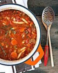 No Chop Vegetable Soup
